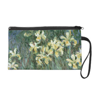 Claude Monet | The Yellow Irises Wristlet