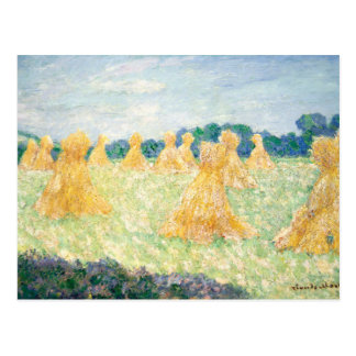 Claude Monet - The Young Ladies of Giverny Postcard