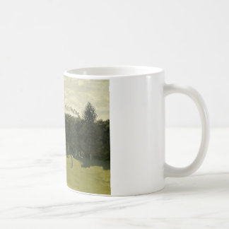 Claude Monet - Train in the Countryside Coffee Mug