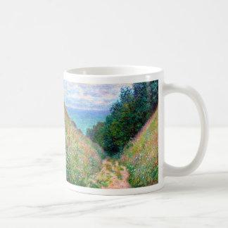 Claude Monet: Trayectoria en el La Cavee Pourville Taza Clásica