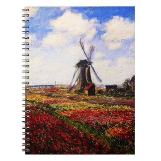 Claude Monet-Tulips Fields Notebook