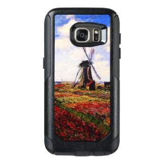 Claude Monet-Tulips Fields OtterBox Samsung Galaxy S7 Case