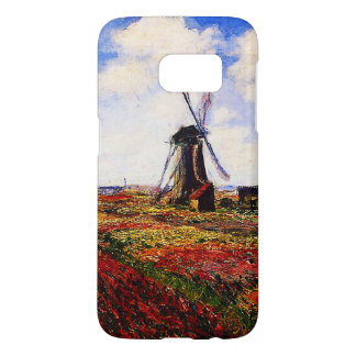 Claude Monet-Tulips Fields Samsung Galaxy S7 Case