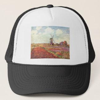 Claude Monet Tulips in Holland Trucker Hat