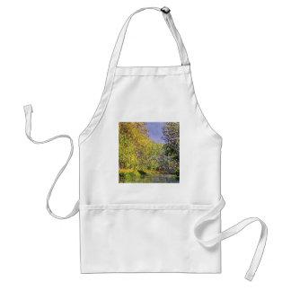 Claude Monet una curva del Epte Delantal