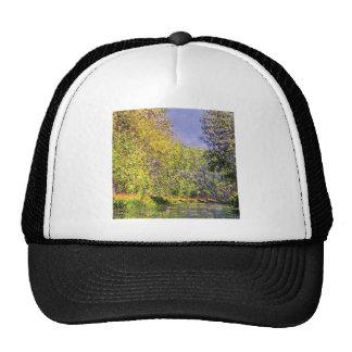 Claude Monet una curva del Epte Gorras De Camionero