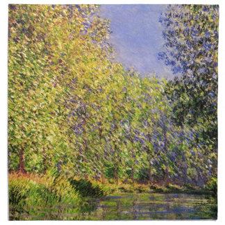 Claude Monet una curva del Epte Servilleta