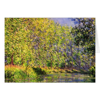Claude Monet una curva del Epte Tarjetas