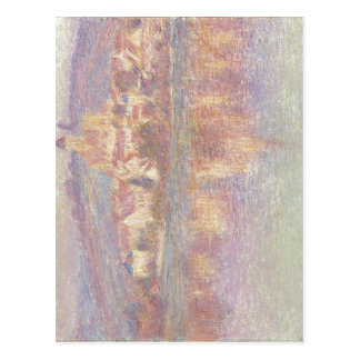 Claude Monet V?theuil 1901 Oil on canvas 88.3 x 91 Postcard