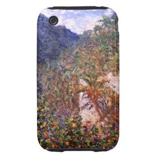 Claude Monet: Valle de Sasso Tough iPhone 3 Carcasas
