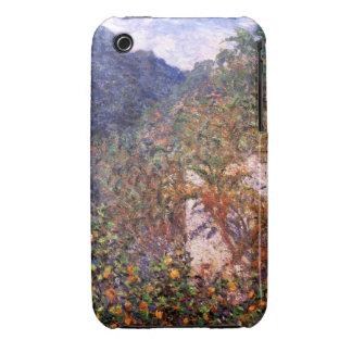 Claude Monet: Valle de Sasso iPhone 3 Carcasas