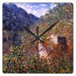 Claude Monet: Valle de Sasso Relojes
