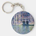 Claude Monet Venecia Llavero Redondo Tipo Pin