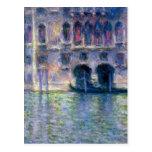 Claude Monet Venecia Postal