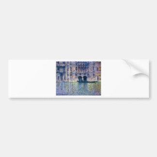 Claude Monet Venice Bumper Sticker