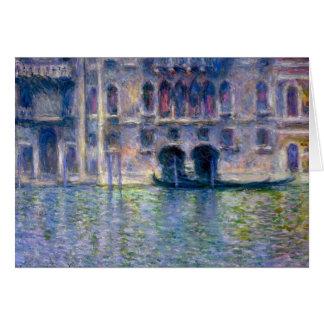 Claude Monet Venice Card
