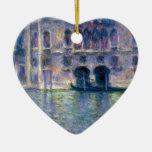 Claude Monet Venice Christmas Tree Ornament