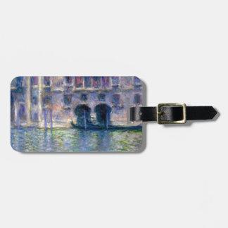 Claude Monet Venice Luggage Tag