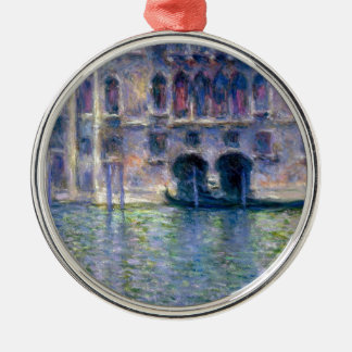 Claude Monet Venice Metal Ornament