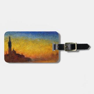 Claude Monet // Venice Twilight Bag Tag