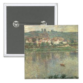 Claude Monet | Vetheuil, 1901 Pinback Button