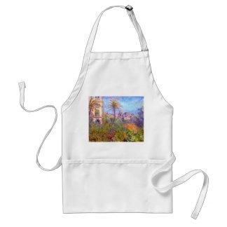 Claude Monet: Villas at Bordighera Adult Apron