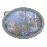 Claude Monet: Villas at Bordighera Belt Buckle