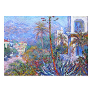 Claude Monet: Villas at Bordighera Large Business Cards (Pack Of 100)