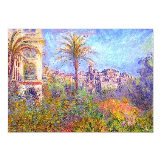 Claude Monet: Villas at Bordighera Card
