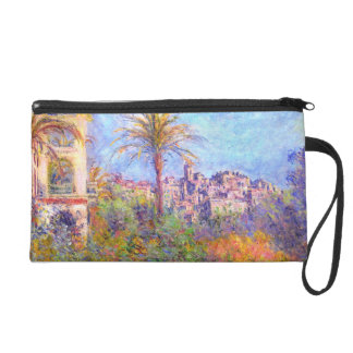 Claude Monet: Villas at Bordighera Wristlet Purse