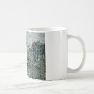 Claude Monet - vista del Prins Hendrikkade Taza De Café