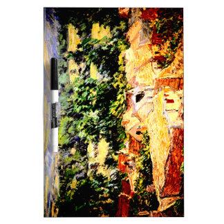 Claude Monet - Vue du village de Giverny Pizarra