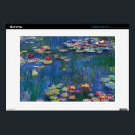 "Claude Monet - Water Lilies 15&quot; Laptop Decal<br><div class=""desc"">Claude Monet - Water Lilies,  1916</div>"