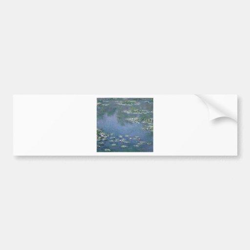Claude Monet - Water Lilies - 1906 Ryerson Bumper Sticker