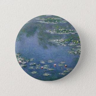 Claude Monet - Water Lilies - 1906 Ryerson Pinback Button