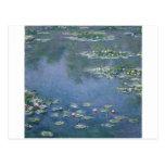 Claude Monet - Water Lilies - 1906 Ryerson Postcard