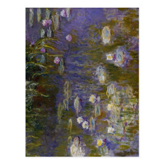 Claude Monet Water-Lilies 1914-1917 Technique Oil  Postcard