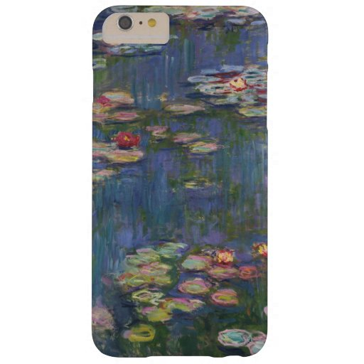 Claude Monet Water Lilies 1916 Fine Art Barely There iPhone 6 Plus Case