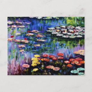 Claude Monet Water Lilies 1916 Fine Art Postcard