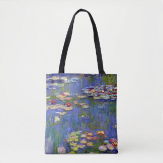 Claude Monet Water Lilies 1916 Tote Bag
