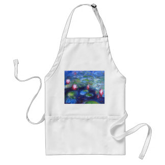 Claude Monet: Water Lilies 2 Adult Apron