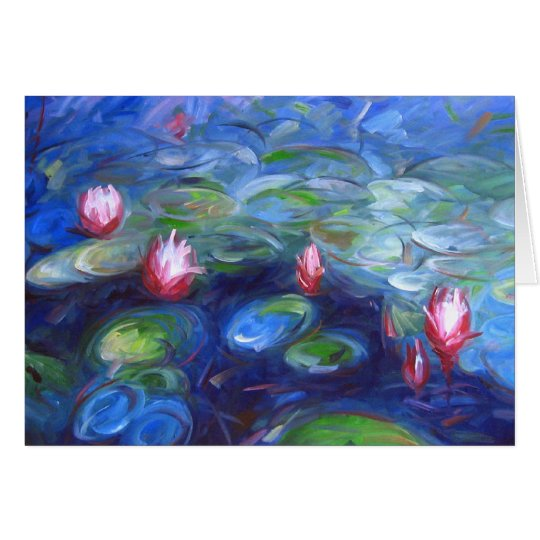 Claude Monet: Water Lilies 2 Card