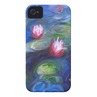 Claude Monet: Water Lilies 2 iPhone 4 Case-Mate Case