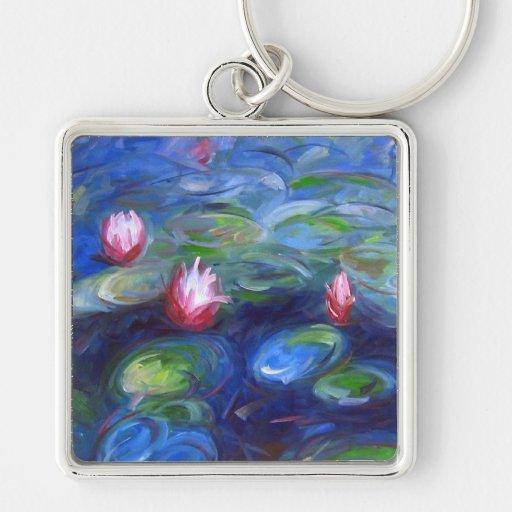 Claude Monet: Water Lilies 2 Keychain