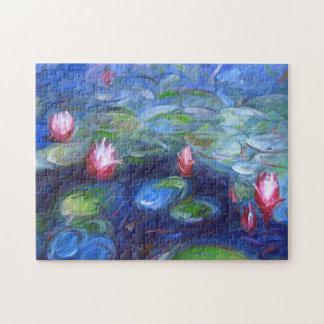 Claude Monet: Water Lilies 2 Puzzles
