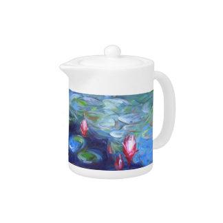 Claude Monet: Water Lilies 2 Teapot