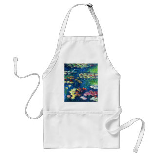 Claude Monet: Water Lilies 3 Adult Apron