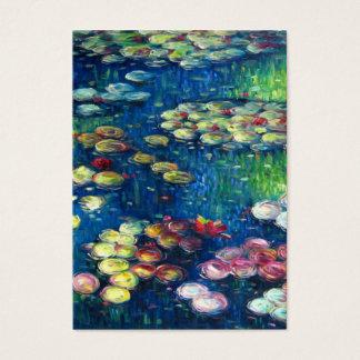 Claude Monet: Water Lilies 3 Business Card