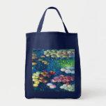 Claude Monet: Water Lilies 3 Canvas Bags