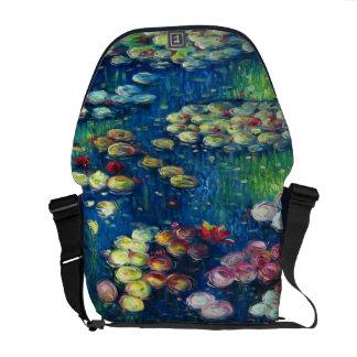 Claude Monet: Water Lilies 3 Courier Bag
